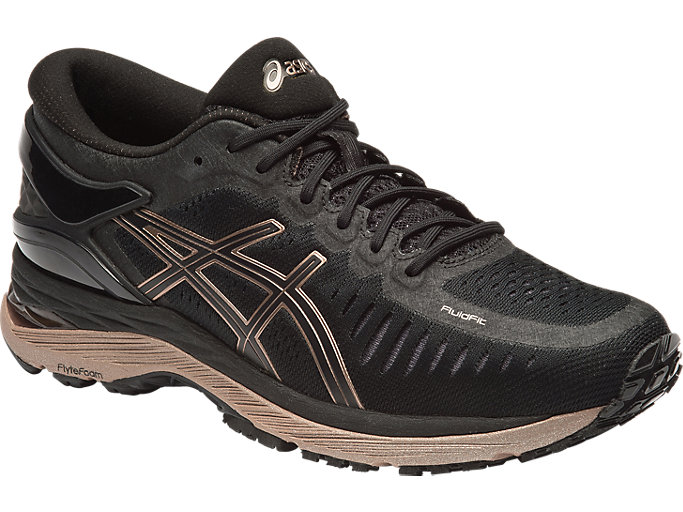 Women's METARUN | BLACKONYXROSE GOLD | Laufschuhe | ASICS