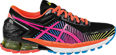 detailed look 684cb 7ebc1 GEL-KINSEI 6 BLACK HOT PINK FLASH YELLOW 3 RT