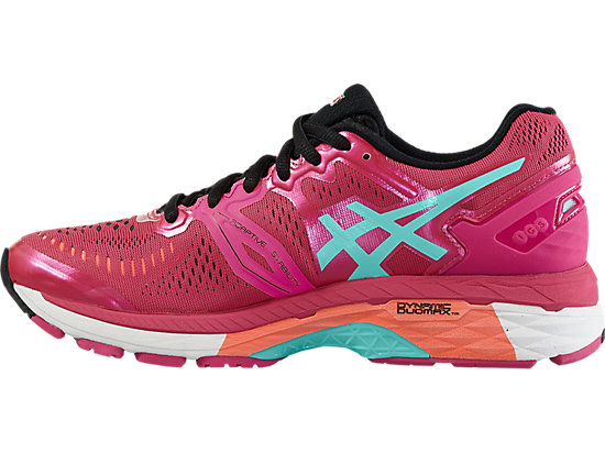 GEL-KAYANO 23 SPORT PINK/ARUBA BLUE/FLASH CORAL 11