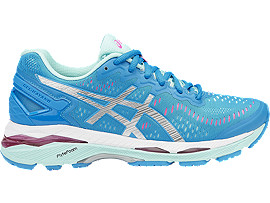 GEL-KAYANO 23, Diva Blue/Silver/Aqua Splash