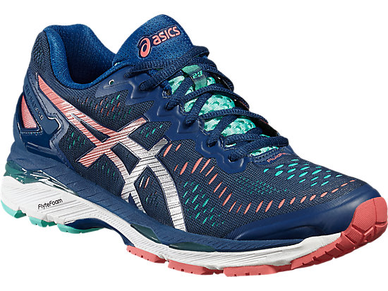 GEL-KAYANO 23 POSEIDON/SILVER/COCKATOO 7