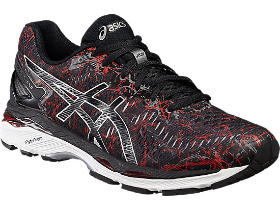 GEL-KAYANO 23 VERMILION/BLACK/SILVER 7