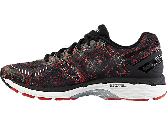 GEL-KAYANO 23 VERMILION/BLACK/SILVER 11