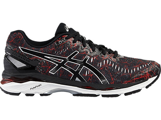 GEL-KAYANO 23 VERMILION/BLACK/SILVER 3