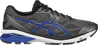 Asics GT-1000 5 Mens Running Shoes, Color- Black/Lime, Shoe Size- 7 UK