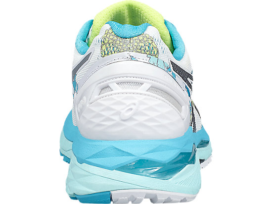 GEL-KAYANO 23 WHITE/SILVER/AQUARIUM 19 BK