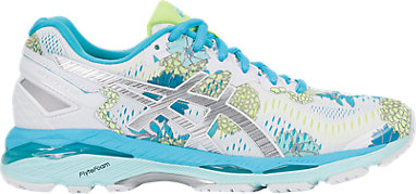 2b7ab819a4 GEL-Kayano 23 White Silver Aquarium 3 RT