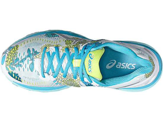 GEL-KAYANO 23 WHITE/SILVER/AQUARIUM 15 TP