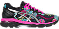 GEL-Kayano 23:Black/Silver/Pink Glow