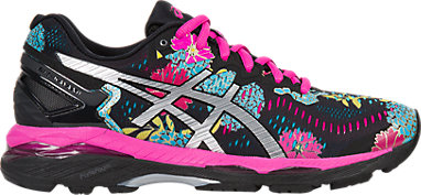 GEL-Kayano 23 Black Silver Pink Glow 3 RT a4f0826e8