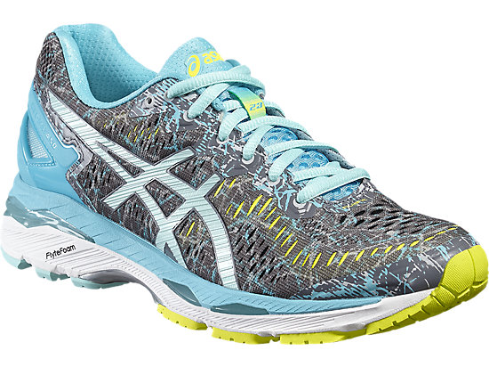 GEL-KAYANO 23 SHARK/ARUBA BLUE/AQUARIUM 7