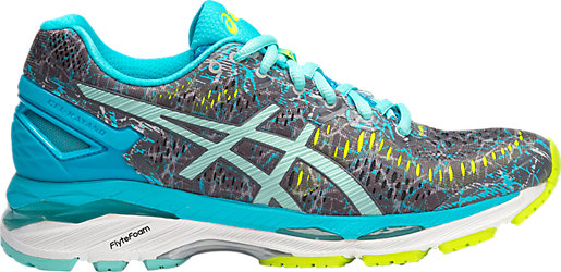 GEL-KAYANO 23 LE SHARK/ARUBA BLUE/AQUARIUM 3 RT