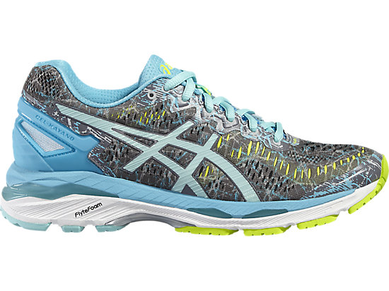 GEL-KAYANO 23 SHARK/ARUBA BLUE/AQUARIUM 3