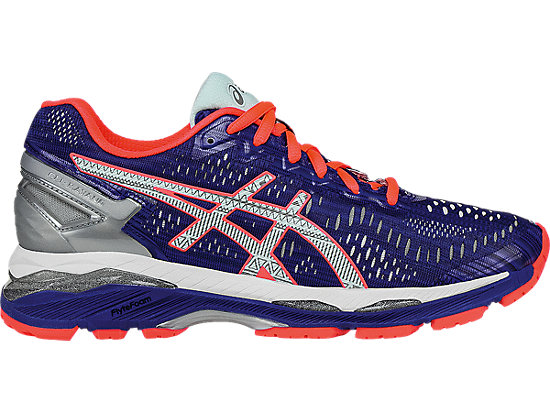 GEL-Kayano 23 Lite-Show ASICS Blue/Silver/Flash Coral 3