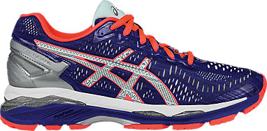 45fe892623b6 GEL-Kayano 23 Lite-Show ASICS Blue Silver Flash Coral 3 RT
