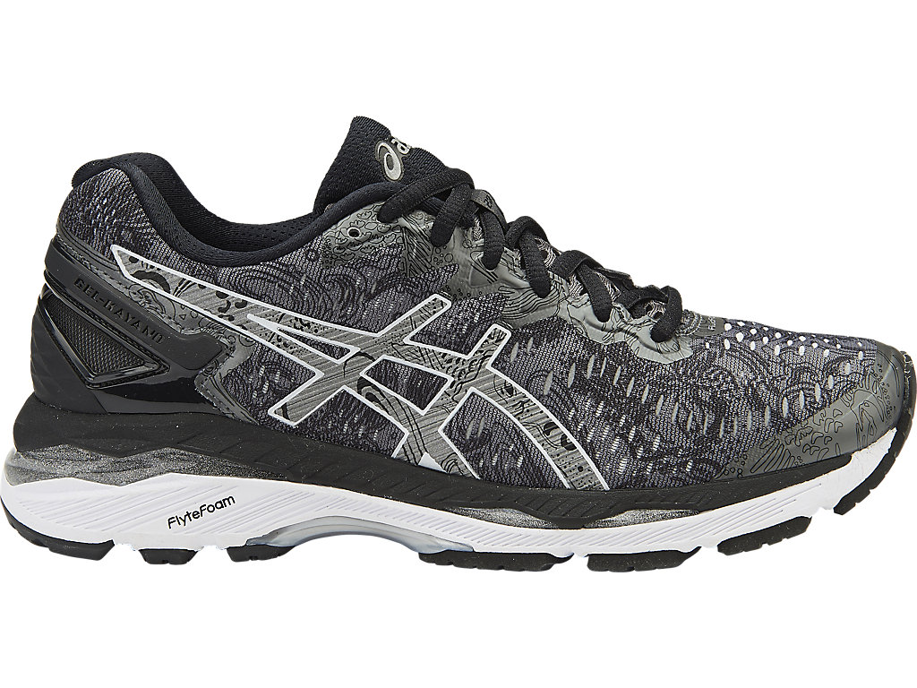 GEL-KAYANO® 23 LITE-SHOW:CARBON/SILVER/REFLECTIVE