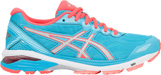 Asics Gt 1000 5 Womens Running Shoes Aquarium/Silver/Flash Coral Online