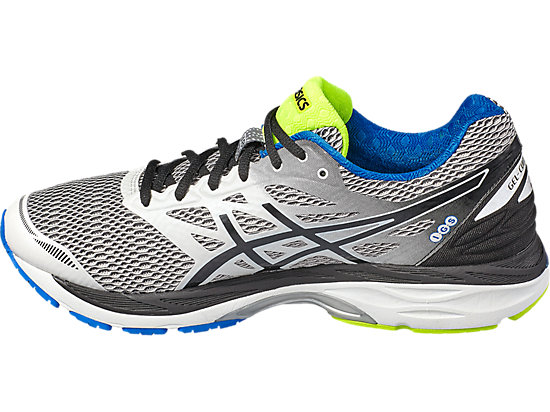 GEL-CUMULUS 18 WHITE/BLACK/ELECTRIC BLUE 7
