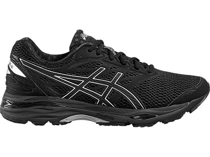 Men's GEL CUMULUS 18 | BLACKSILVERBLACK | Running | ASICS