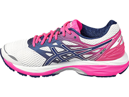 GEL-CUMULUS 18 WHITE/INDIGO BLUE/HOT PINK 7