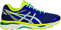 GEL-Cumulus 18:ASICS Blue/Silver/Safety Yellow