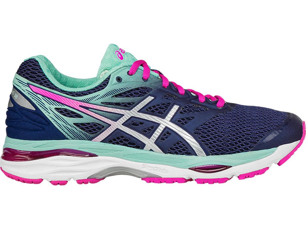 ASICS Women's Gel cumulus 18 Running Shoe Indigo Bluesilver