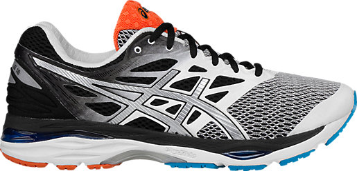 Men Running Shoes ASICS Men White/Silver/Black Shoes Online