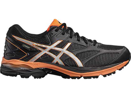 GEL-PULSE 8 G-TX, BLACK/SILVER/HOT ORANGE