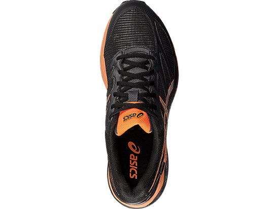 GEL-PULSE 8 G-TX BLACK/SILVER/HOT ORANGE 19