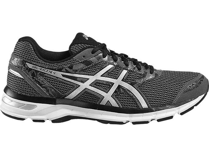 96071279eac0c GEL-EXCITE 4 | Men | CARBON/SILVER/BLACK | Men's Running Shoes | ASICS