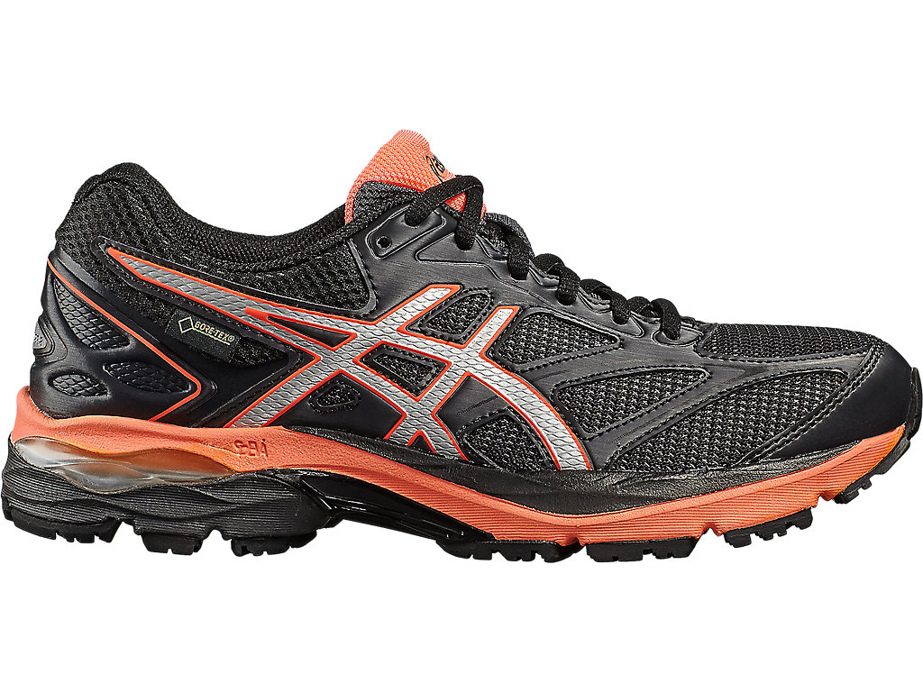 GEL-PULSE 8 G-TX | Women | Black/Silver/Flash Coral | Laufschuhe ...