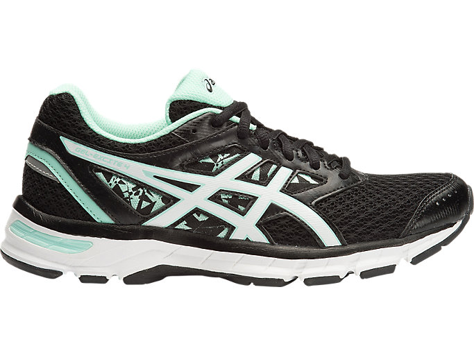 Women's GEL Excite 4 BlackWhiteMintJoggeskoASICS BlackWhiteMintJoggesko ASICS