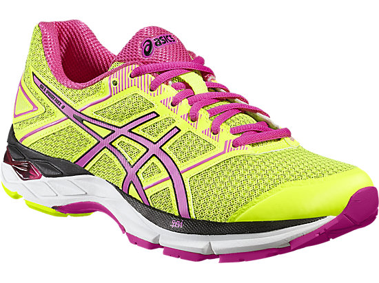 GEL-PHOENIX 8 SAFETY YELLOW/PINK GLOW/BLACK 7