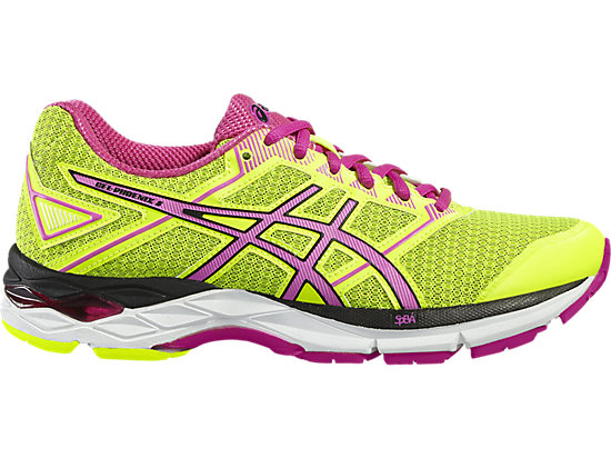 GEL-PHOENIX 8 SAFETY YELLOW/PINK GLOW/BLACK 3
