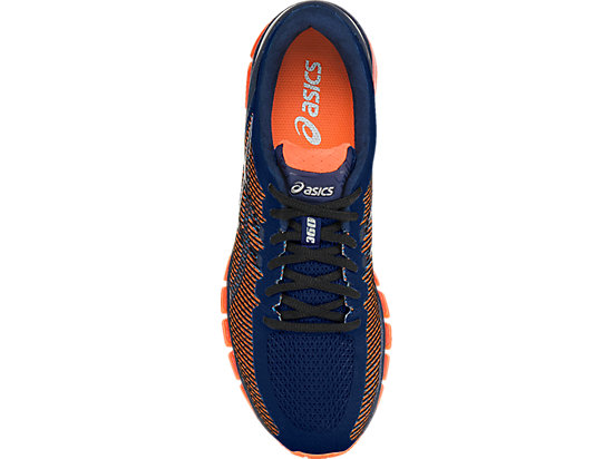 GEL-QUANTUM 360 CM ISLAND BLUE/WHITE/HOT ORANGE 23