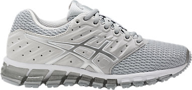 new product 1bde7 30efa GEL-QUANTUM 180 2 MID GREY WHITE SILVER 3 RT