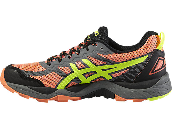 GEL-FUJITRABUCO 5 FLASH CORAL/SAFETY YELLOW/BLACK 11