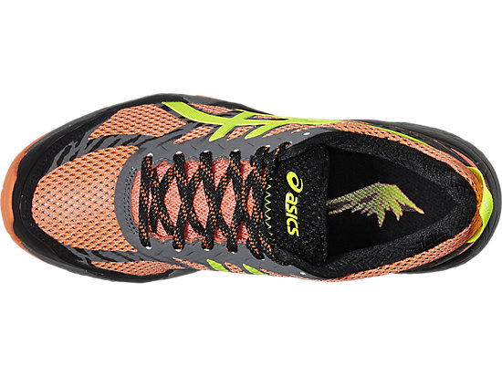 GEL-FUJITRABUCO 5 FLASH CORAL/SAFETY YELLOW/BLACK 19