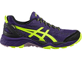GEL-FUJITRABUCO 5 G-TX, Parachute Purple/Safety Yellow/Black