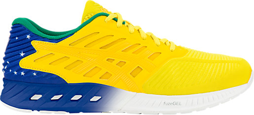 Asics Running shoes Mens Fuzex Spirit Brazil