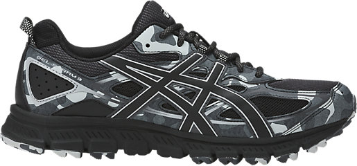 GEL-Scram 3 Black/Black/Glacier Grey 3 RT