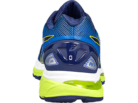 GEL-NIMBUS 19 pour hommes INDIGO BLUE/SAFETY YELLOW/ELECTRIC BLUE 19