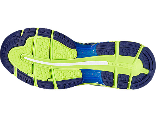 GEL-NIMBUS 19 pour hommes INDIGO BLUE/SAFETY YELLOW/ELECTRIC BLUE 11