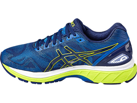 GEL-NIMBUS 19 pour hommes INDIGO BLUE/SAFETY YELLOW/ELECTRIC BLUE 7