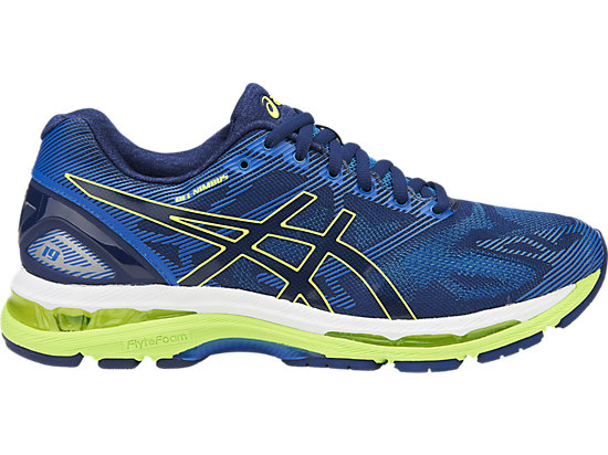 GEL-Nimbus 19, Indigo Blue/Safety Yellow/Electric Blue