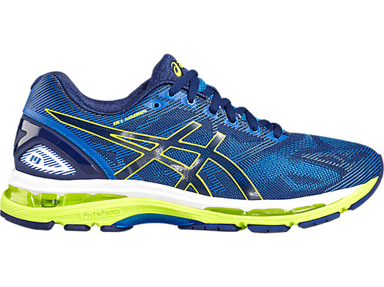 GEL-NIMBUS 19 pour hommes INDIGO BLUE/SAFETY YELLOW/ELECTRIC BLUE 3