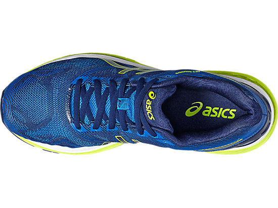 GEL-NIMBUS 19 pour hommes INDIGO BLUE/SAFETY YELLOW/ELECTRIC BLUE 15