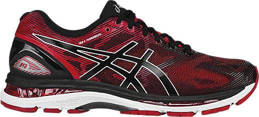 Asics GEL-Nimbus 19 Mens Running Shoe Black/Red
