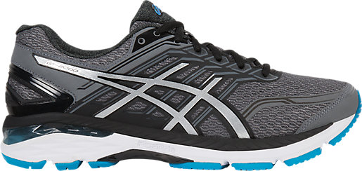 Mens Gt-2000 5 Running Shoes, Multicolor (Island Blue/White/Black), 40 40 EU Asics