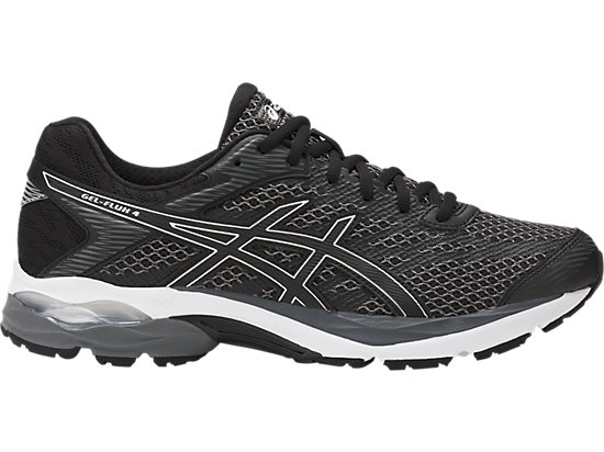 GEL-FLUX 4, Black/Black/Silver